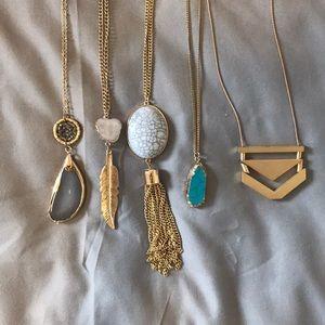 Jewelry - Pendant Necklace Bundle!
